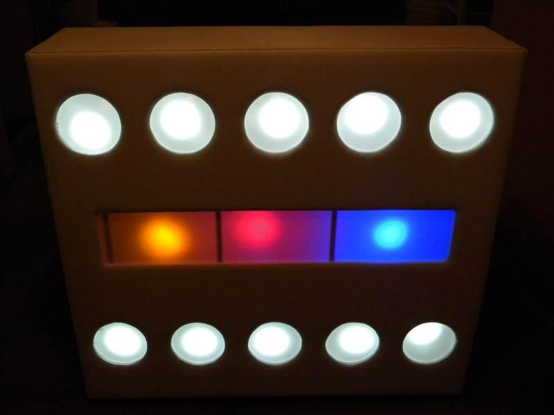 Renta de barras iluminadas para eventos renta de - Barras de bar iluminadas ...